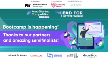 Arab Startup Competition wraps up Virtual Training Bootcamp
