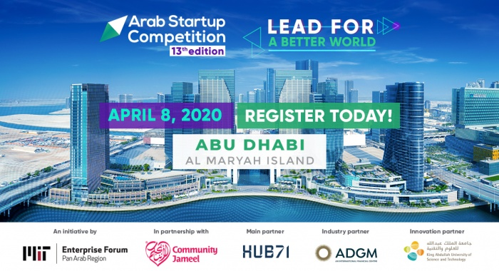 Arab Startup Competition heads to Abu Dhabi in April